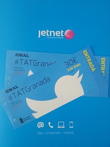 Sorteo 2 entradas para asistir a #TATGranada #ConcursoTATJetnet
